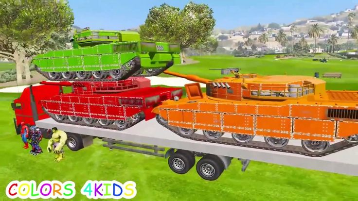 Learn Numbers Spiderman Cartoon with Colors in Truck for Kids Nursery Rhymes songs For Children