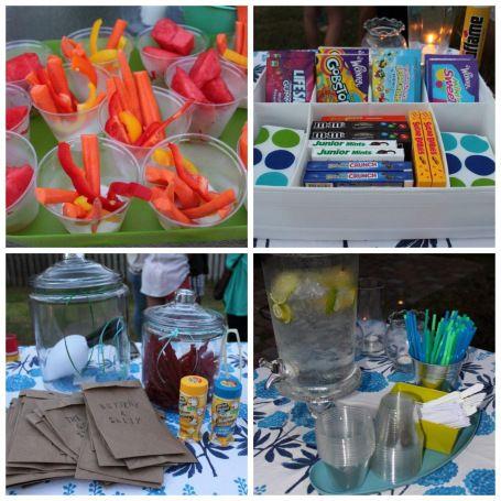 Outdoor party ideas