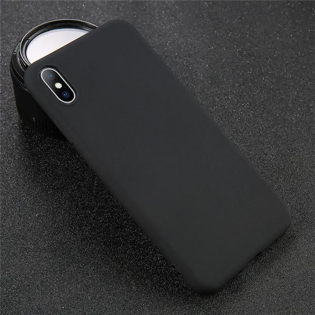 4.7-5.5 inch 5.8 inch Case For iphone XS 8 7 6S Plus Back Cover