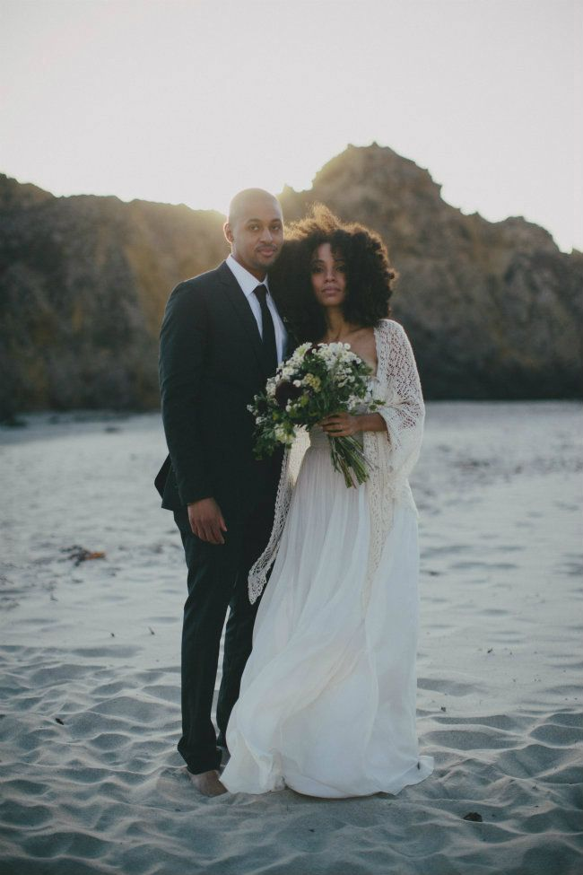 Nikisha+Carl of UrbanBushBabes wedding album ... Black Love ... Black•L❤VE
