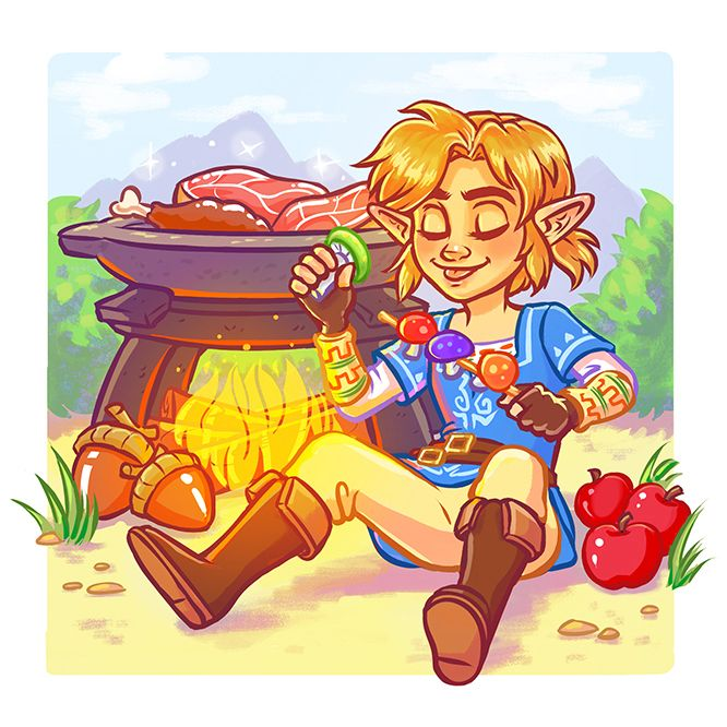 865 best images about game breath of the wild on for Cuisine zelda