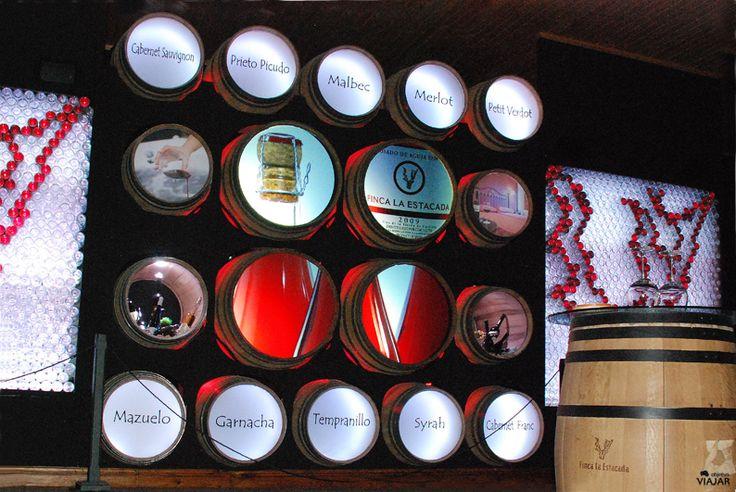Sala Los Placeres del Vino. Finca La Estacada