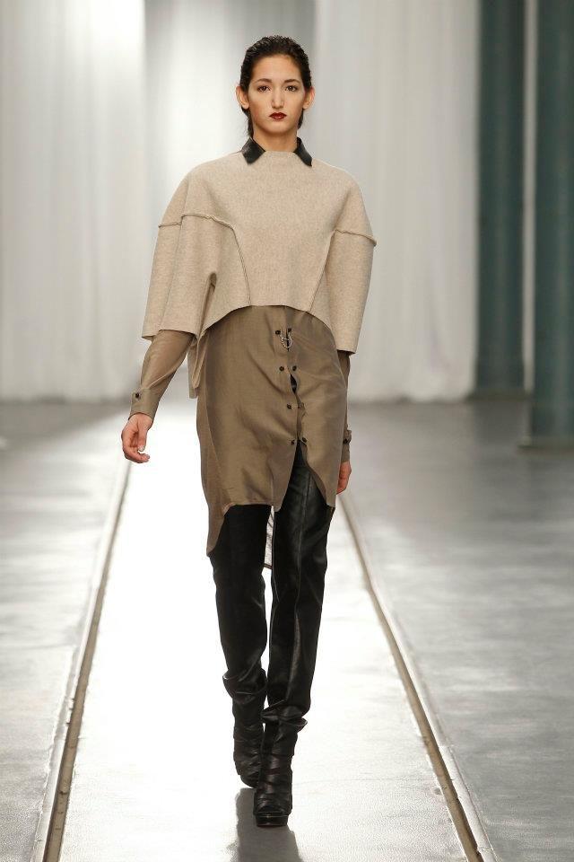 "Portugal Fashion . Fall Winter 2012/2013Bloom - Concurso de Design""element"" by Carla Pontes  model:Ana Baptista [ML]  photo:MODATEX - Página Oficial"
