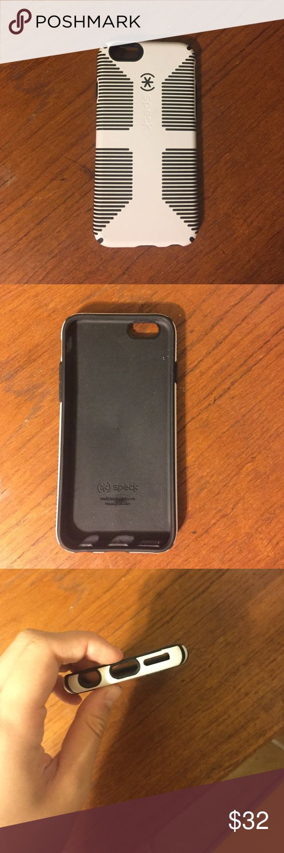 SPECK iPhone 6 case SPECK iPhone 6 case. Used but great condition. Small crack on the bottom (picture 3) but barely noticeable Accessories Phone Cases