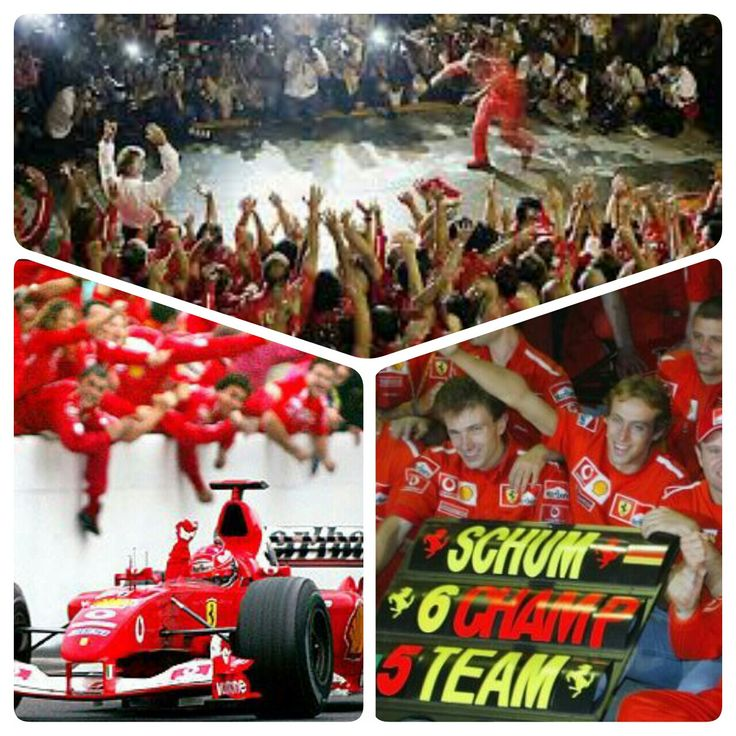 On This Day in F1 ~ Schumacher Drives Into The History Books.  Michael Schumacher piloted his Ferrari F2003 into the Formula 1 history books and secured his record-breaking 6th World Drivers Champioship at the Japanese Grand Prix in Suzuka on October 12, 2003, surpassing the record set by Juan Manuel Fangio in 1957. This was also Schumacher's fourth consecutive World Driver's title. #F1 #ScuderiaFerrari #RedSeason #MichaelSchumacher #OnThisDay