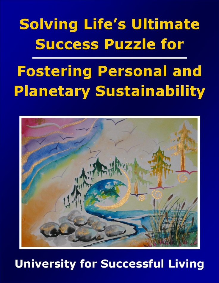 "Fostering Personal and Planetary Sustainability will help you practice sustainability based on finding balance. You will get a clear picture of where your thoughts and actions are sustainable and healthy, and where you may want to make changes. This interactive ""how to guidebook"" includes insightful self-discovery exercises that will help you will enjoy greater satisfaction and peace as you demonstrate sustainable living and earth stewardship."