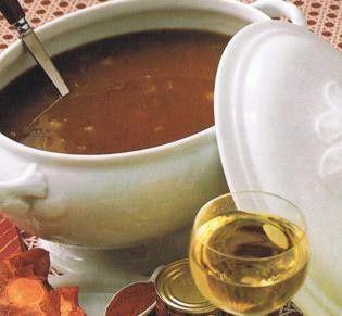Gebonden ossestaartsoep recept - Soep - Eten Gerechten - Recepten Vandaag