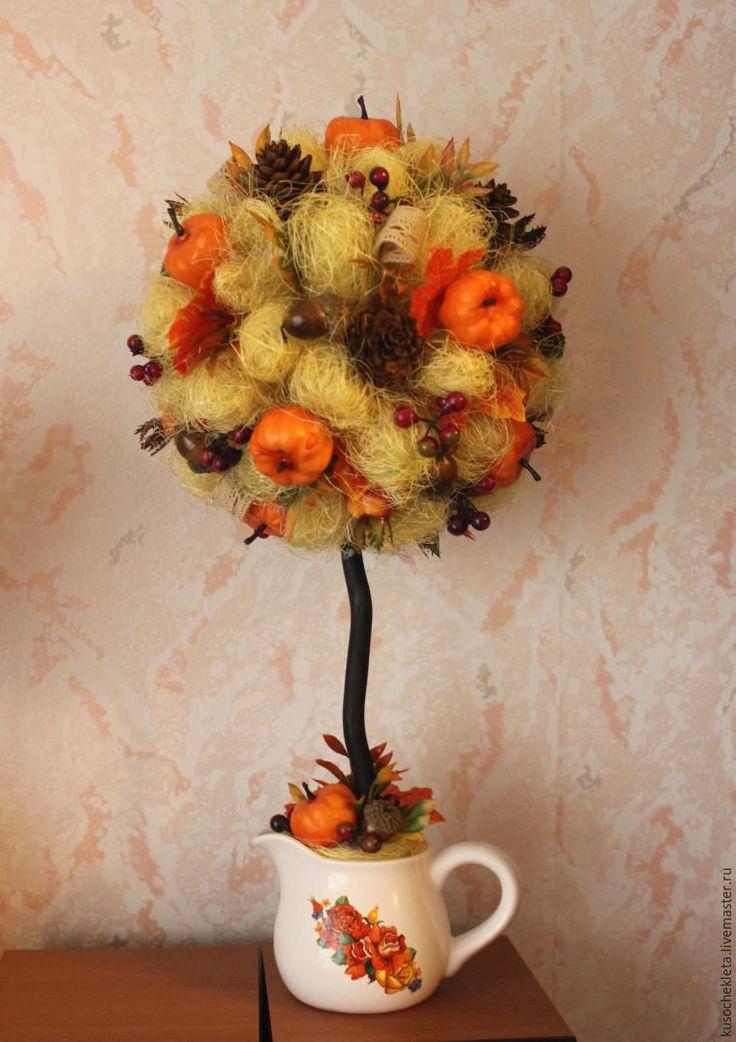 Создаем топиарий «Дары осени» - Ярмарка Мастеров - ручная работа, handmade