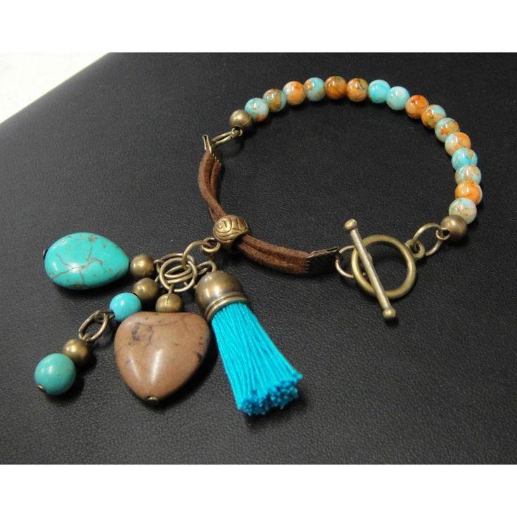 17 mejores ideas sobre collar de piedras preciosas en for Piedra preciosa turquesa