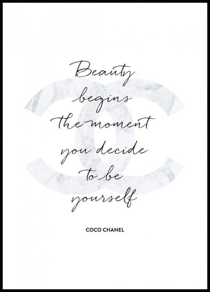 """""""Beauty begins the minute you decide to be yours…"""