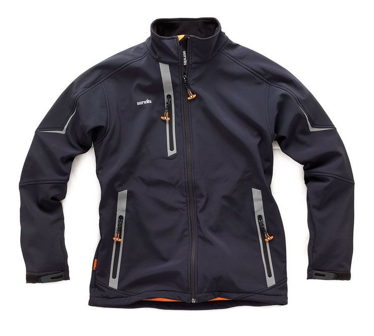 Scruffs Black Pro Softshell Waterproof Jacket | Mad4Tools... I need 2 of these in Medium