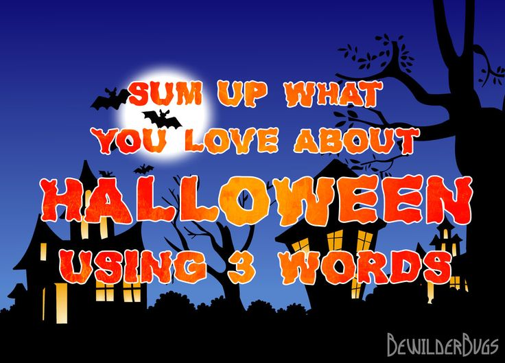 What does Halloween mean to you?