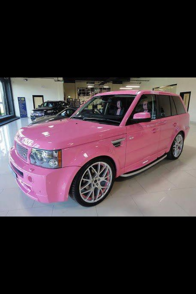 25 Best Ideas About Pink Range Rovers On Pinterest Pink