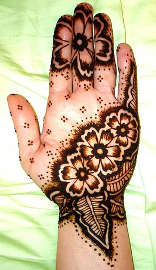 Mehndi Palm Arabic Designs : Breathtaking arabic mehndi designs to try in