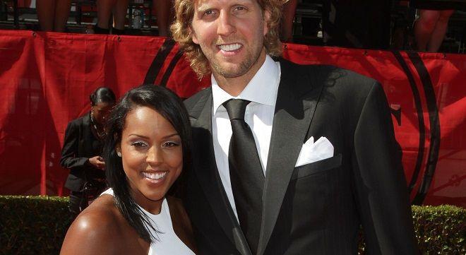 NBA Dallas Mavericks, Dirk Nowitzki & Wife Jessica Olsson.