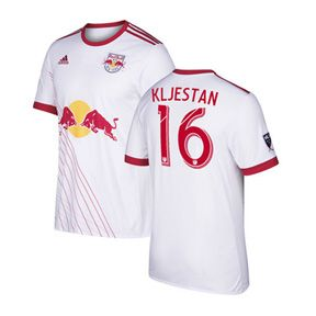 adidas Youth NY Red Bulls Kljestan #16 Jersey (Home 17/18): http://www.soccerevolution.com/store/products/ADI_40967_A.php