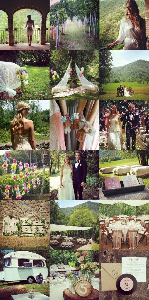 www.bodasdecuento.com Una boda en una casa particular en Girona. Diseño y Decoración: Bodas de Cuento Wedding Planners