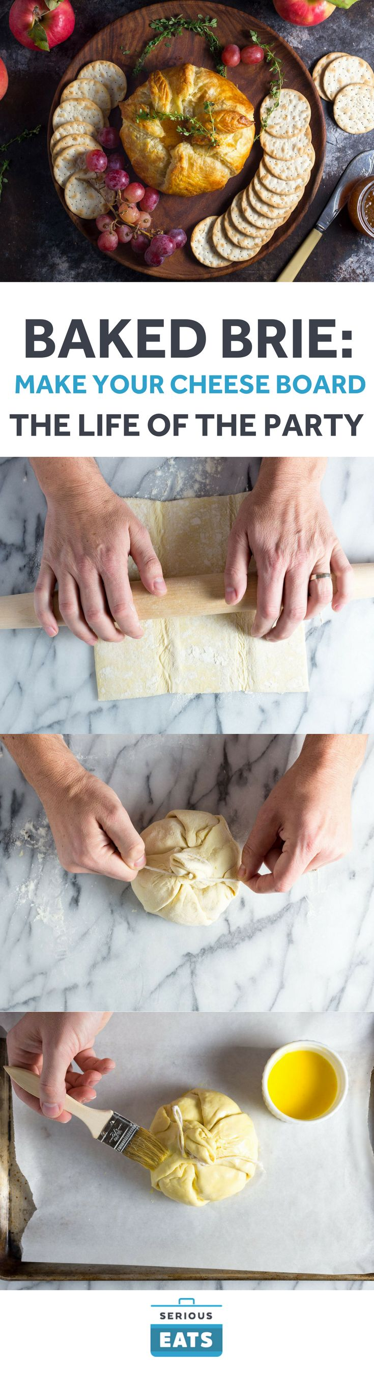 Want to take your baked Brie to the next level? Make it en croûte.