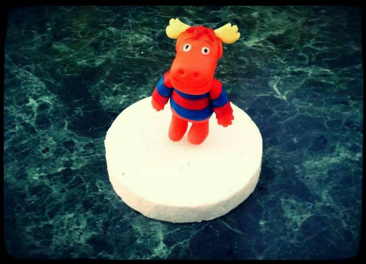Tyrone Backyardigans Fondant