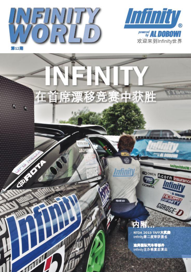 Maquetación y traducción de la revista Infinity World para la empresa de traducción internacional Eurotext.