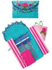 Gourmet Crochet Hook Caddy Pattern