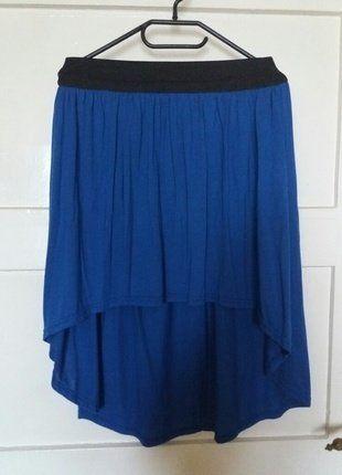 Kup mój przedmiot na #vintedpl http://www.vinted.pl/damska-odziez/spodnice/17694236-asymetryczna-spodnica-na-czarnej-gumce
