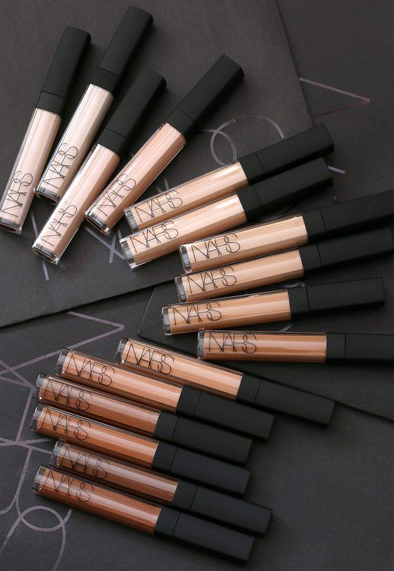 NARS, You're a Peach for Introducing 6 New Shades of Radiant Creamy Concealer …