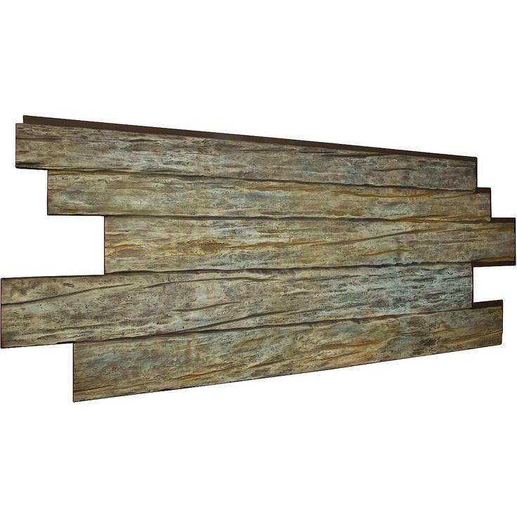 Best 25 faux panels ideas on pinterest faux rock siding for Faux wood siding options