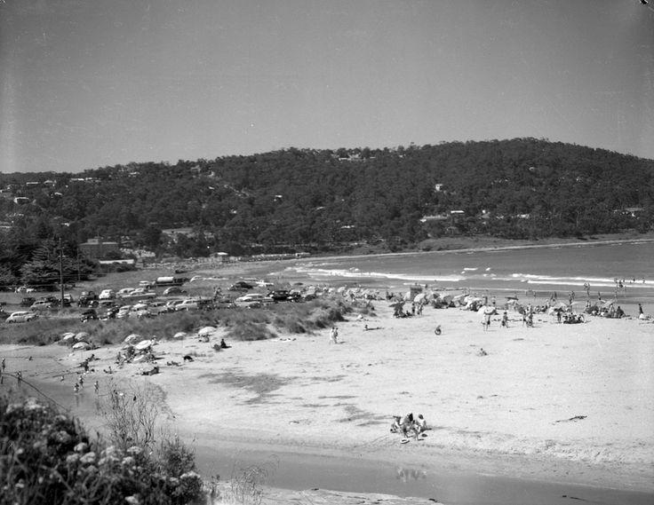 1959 Eastern Beach at Lorne off Great Ocean Road. www.vicroads.vic.gov.au/centenary