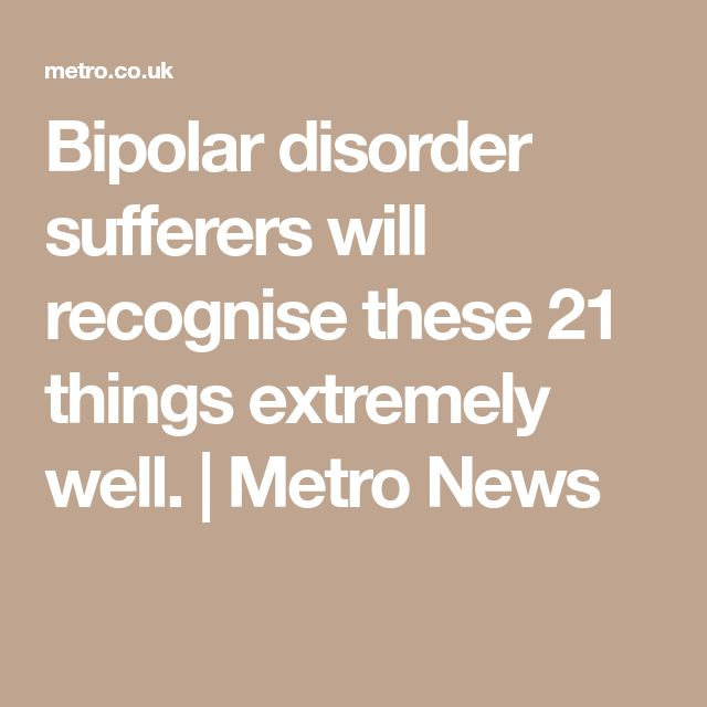 understanding the mystery of the bipolar affective disorder Up/down bipolar disorder documentary full in an attempt to eliminate the mystery and misinformation surrounding bipolar disorder.