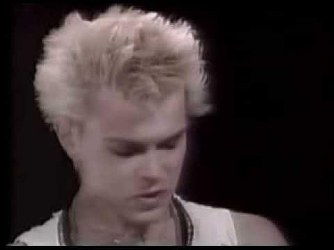 Billy Idol interview 1983   Billy idol, Youtube, Interview