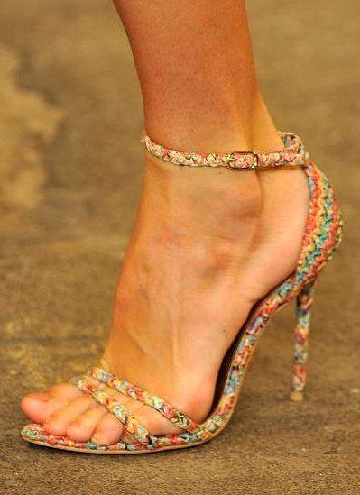 Rosamaria G Frangini | HSH ShoeAddict | Christian Siriano Spring 2014