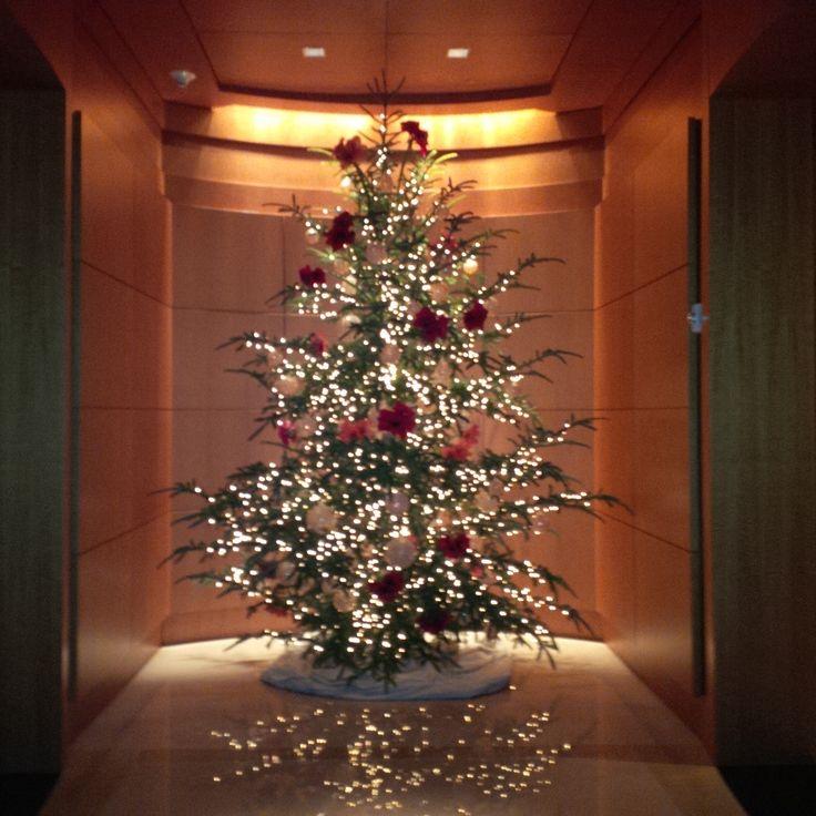 Rockefeller Christmas Tree Lighting 2014: The Umstead, 12/4/2014, Non-sheared Christmas Tree