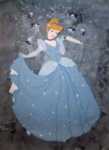 """Evil """"Cinderella"""" by swedish Street Artist Herr Nilsson in Stockholm, Sweden #Aschenputtel #StreetArt #BrothersGrimm"""