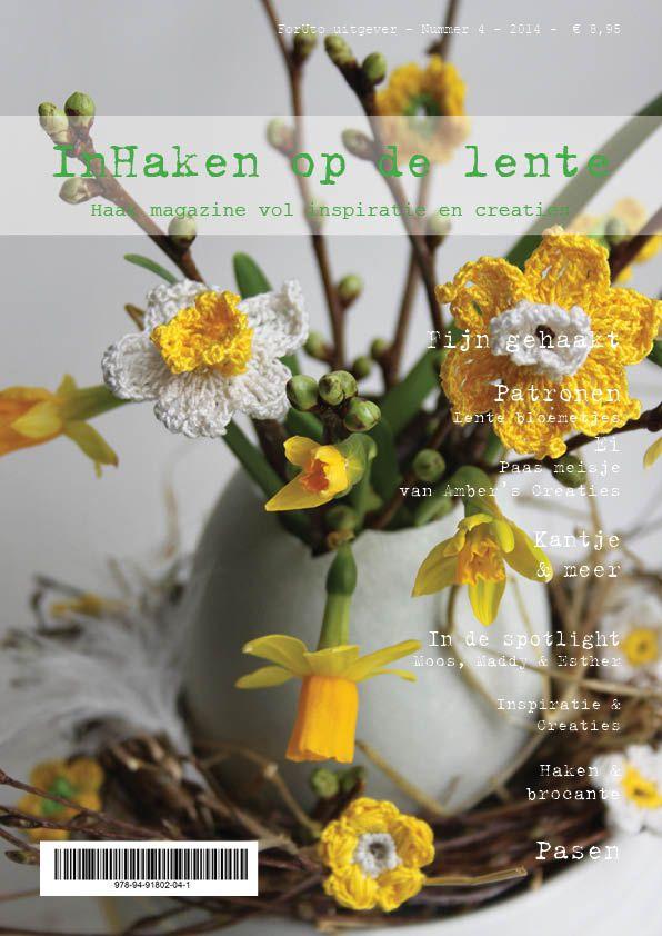 Cover nieuwste magazine Inhaken op de lente