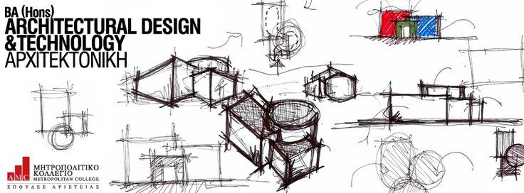 BA (Hons) Architectural Design and Technology (Αρχιτεκτονική) Κεντρικός στόχος του προγράμματος είναι η πλήρης κατάρτιση και εκπαίδευση αρχιτεκτόνων, οι οποίοι θα έχουν συγκροτημένες απόψεις για την αρχιτεκτονική, θα κατανοούν σε βάθος το κοινωνικό πεδίο που θα κληθούν να εργαστούν, θα έχουν κατακτήσει τις απαιτούμενες τεχνικές γνώσεις και θα έχουν οξύνει τις αισθήσεις και το κριτικό πνεύμα τους, ώστε να είναι ικανοί να ανταποκρίνονται στις εξελίξεις της επιστήμης τους.  http://ow.ly/tt3O4