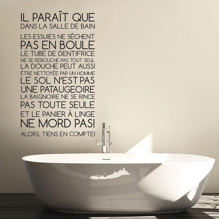 1000 citations de salle de bains sur pinterest for Nettoyage salle de bain