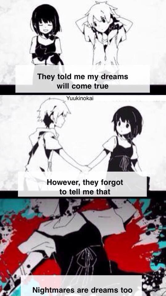 Didn't really need the quote. Kagerou Days.