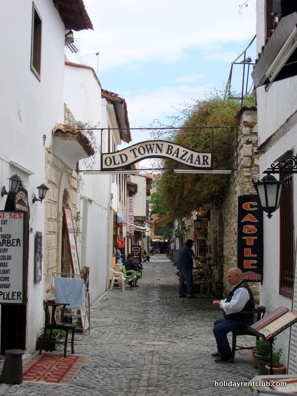 Old town bazar...historical street in Kusadasi