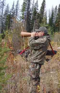 Call the moose in close before your shot and other great moose hunting tips.