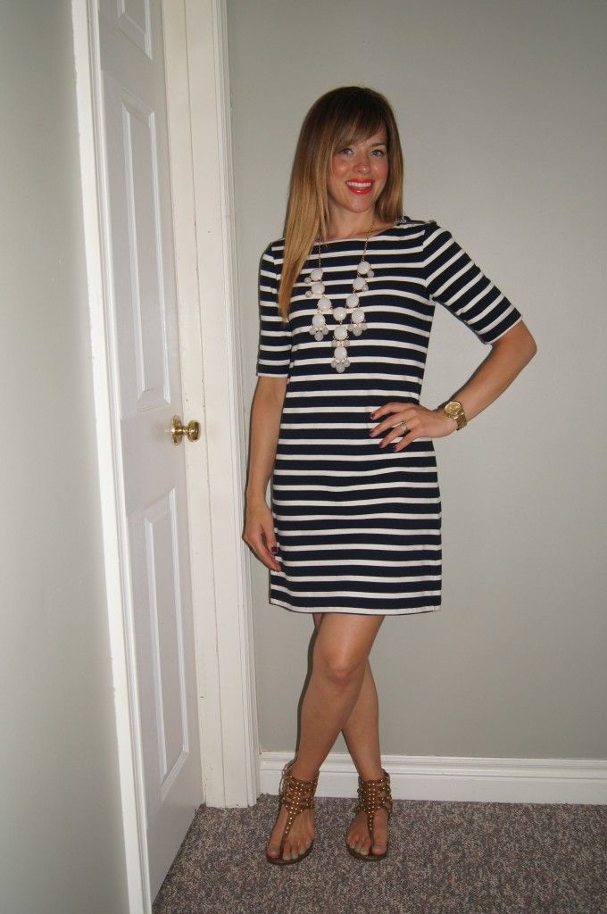 17 Best images about How to Wear the STRIPED Dress on Pinterest ...