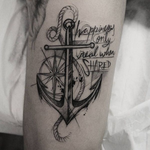 Tattoo History And What They Mean Today Anchor Tattoo Design