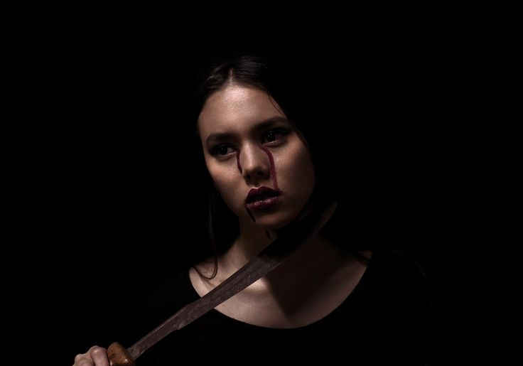 Seven || Wrath || 2016-2017 original photo series by Ashleigh Hunter