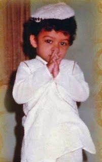 Childhood image of Sai Dharam Tej