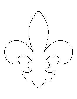 Best 25 door hanger template ideas on pinterest burlap for Printable fleur de lis coloring pages