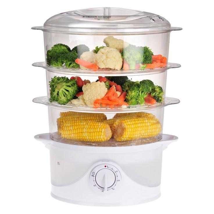 Kalorik 3 Tier Electric Food Steamer - DG 33761