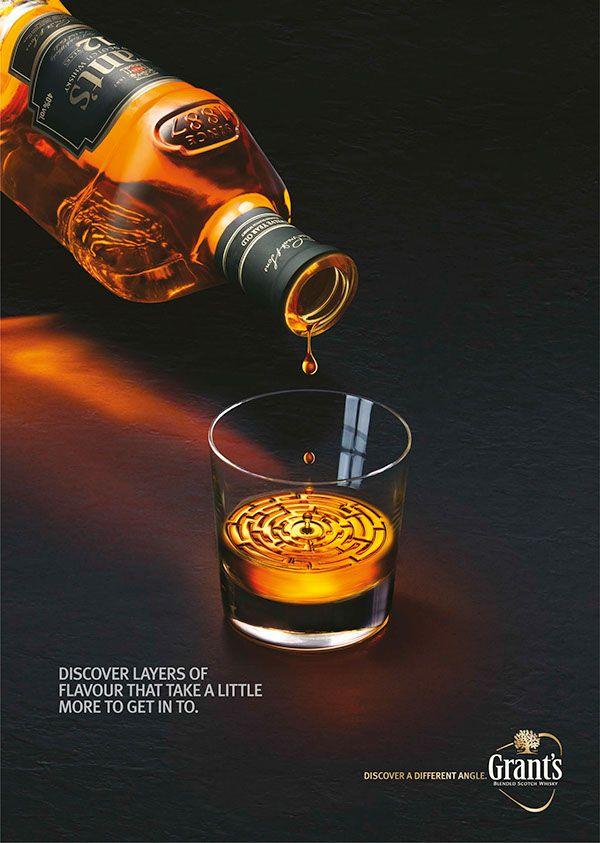 Grants Whisky on Behance