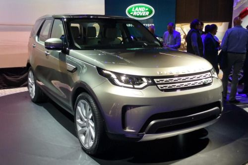 New Land Rover Discovery 2017  official pictures...