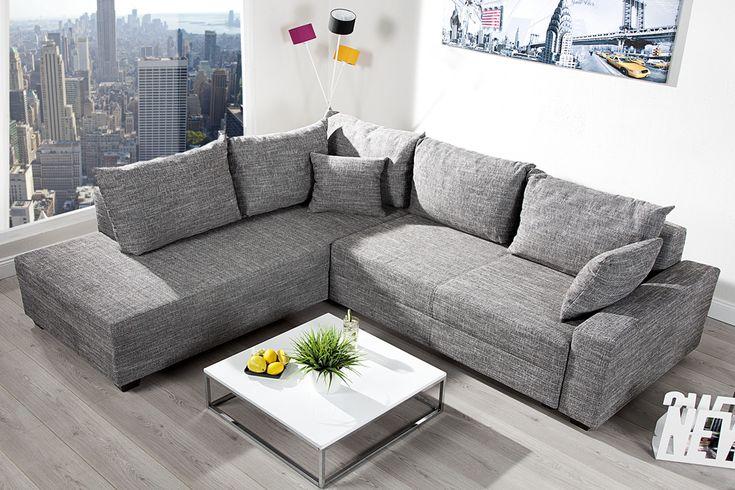 1000 ideen zu ecksofa auf pinterest lounges und l. Black Bedroom Furniture Sets. Home Design Ideas