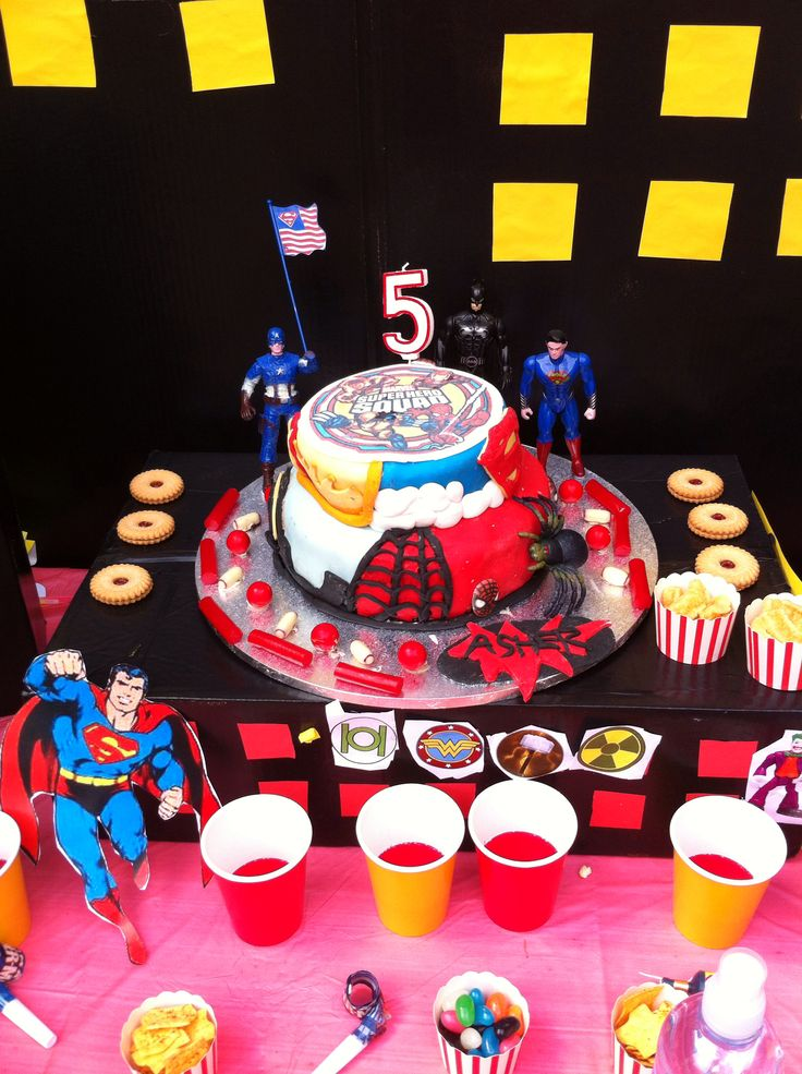 Asher's 5th super hero birthday!